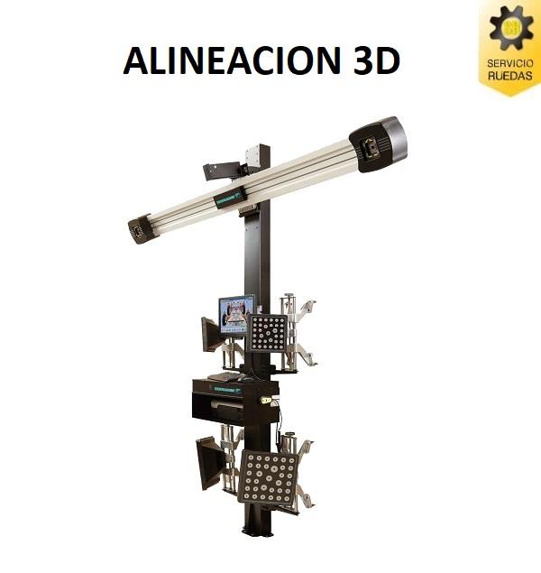 ALINEACION 3D PARA CUALQUIER CAMIONETA 4X4