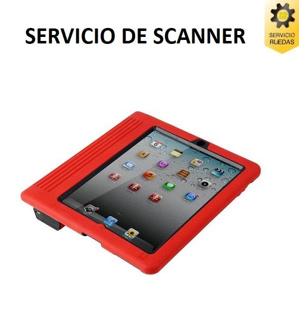 Servicio scanner X431