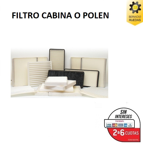 Filtro De polen_I